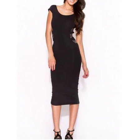 Luxur Womens Ol Business Dress For Office Lady For Work Backless
