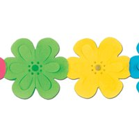 The Beistle Company Flower Garland