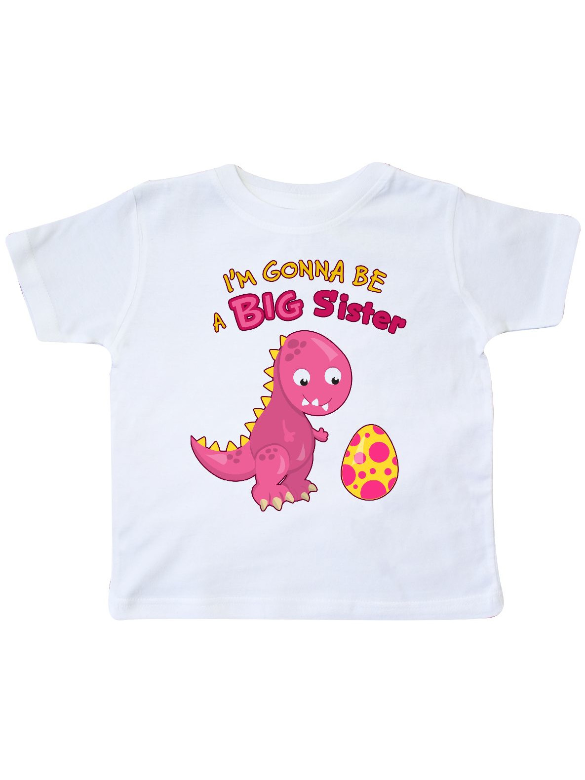 Dinosaur Future Big Sister Toddler T-Shirt