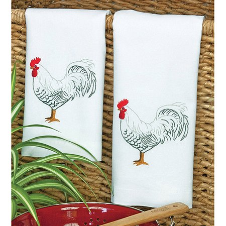 Dimensions Rooster Hand Towels (Rooster Hand Towels)