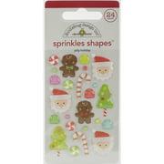 Doodlebug Sprinkles Adhesive Glossy Enamel Embellishments-Sugarplu