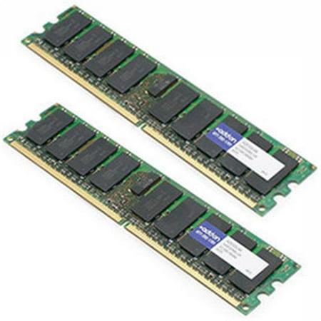 Dell A2257232 Compatible Factory Original 8GB DDR2-667MHz Fully Buffered ECC Dual Rank 1.8V 240-Pin CL5 FBDIMM