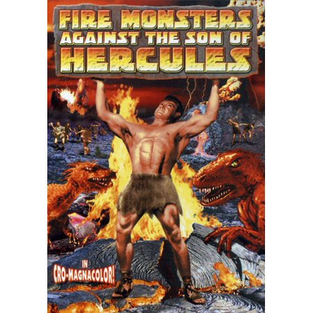 Fire Monsters Against the Son of Hercules (DVD) (Medusa Against The Son Of Hercules 1963)