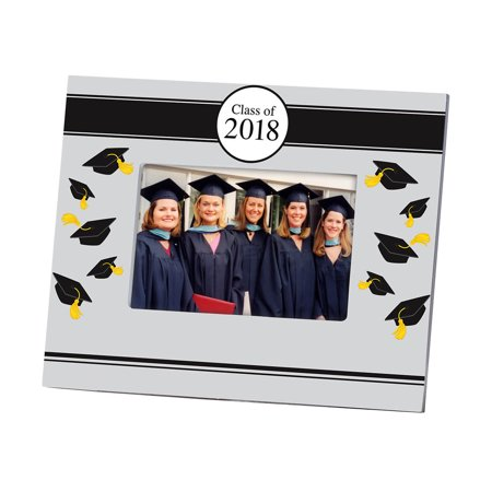2018 Tossed Cap Graduation Frame