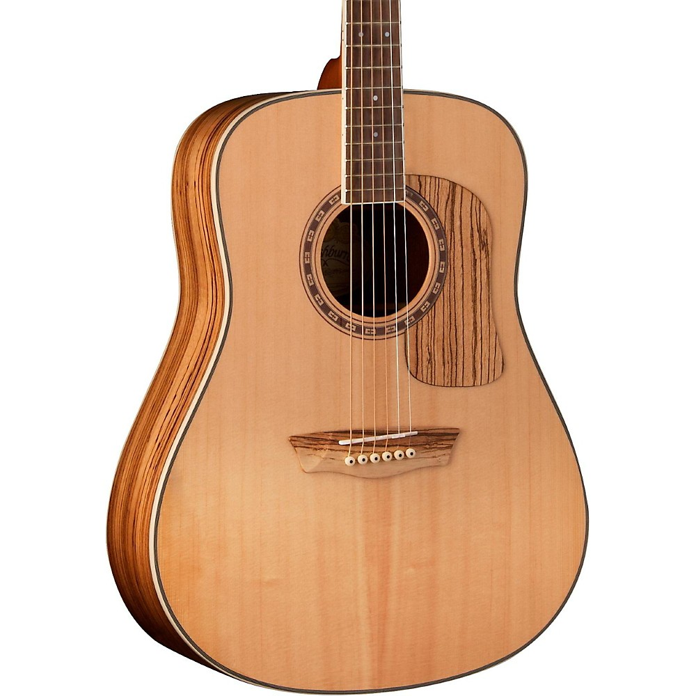 Washburn Woodcraft Series WCSD30S Dreadnought Acoustic Guitar Natural
