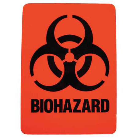 BRADY 18765LS Hazardous Waste Label,2-7/8 In. H,PK25