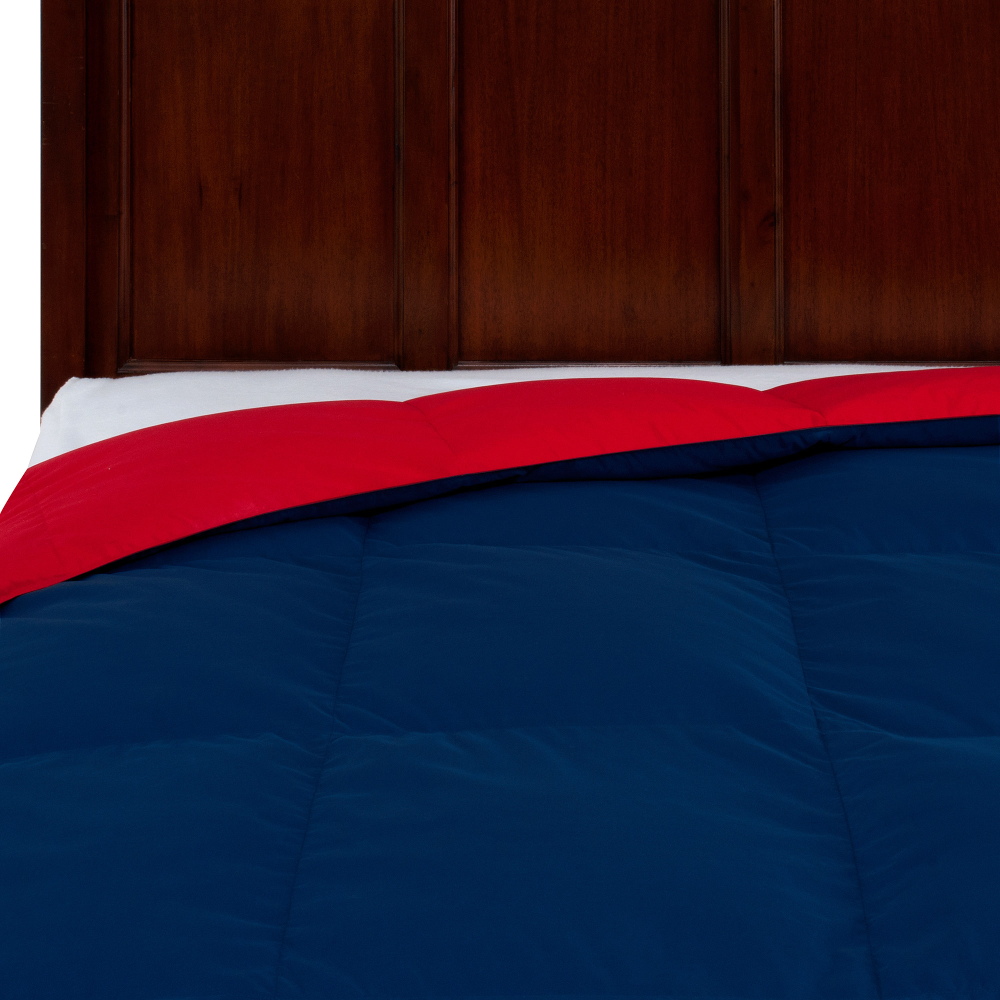 Mainstays Reversible Down Comforter in Choice of Colors and Sizes