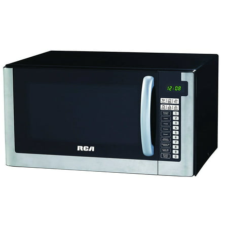 RCA, 1.2 Cubic Foot Microwave, Stainless Steel