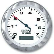 "Sierra 11 59737P Lido Fog Resistant 0-7000 RPM 3"" Tachometer for Outboard & 4-Stroke Gas"