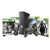 Refurbished Xbox 360 250GB Black Friday Bundle With Halo 4 Darksiders II Tomb Raider And Batman: Arkham City
