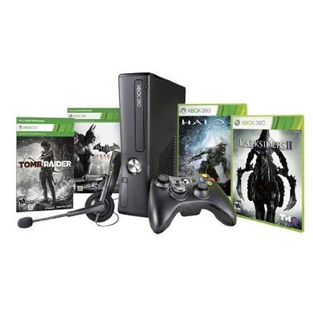 Refurbished Xbox 360 250GB Black Friday Bundle With Halo 4 Darksiders II Tomb Raider And Batman: Arkham City