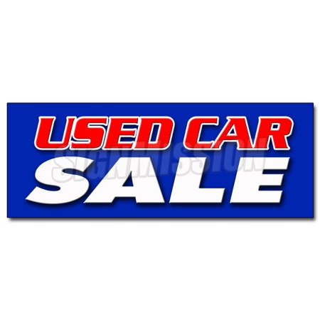 48  Used Car Sale Decal Sticker Cars Sell Sales Pre Owned Vehicles Marketing