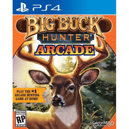GAMEMILL ENTERTAINMENT Big Buck Hunter (PS4) Big Buck Hunter Online