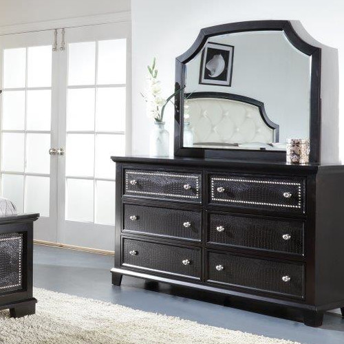Wildon Home  Metro 6 Drawer Dresser with Mirror