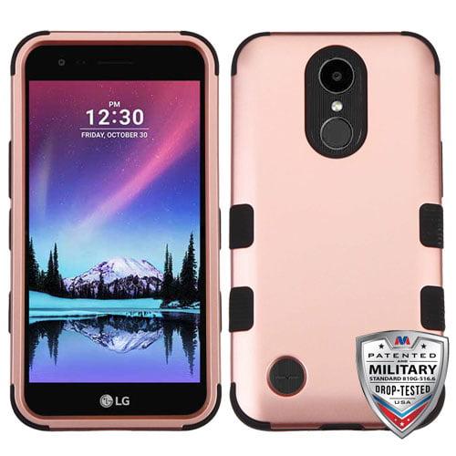For LG K20 Plus/ K10/V5 TUFF Hybrid Impact Armor Phone Protector Case Cover