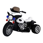 Aosom 6V Kids Ride On Police Motorcycle by Aosom