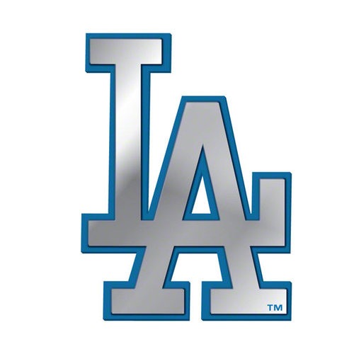 MLB - Los Angeles Dodgers Ultra Premium Metal Car Emblem