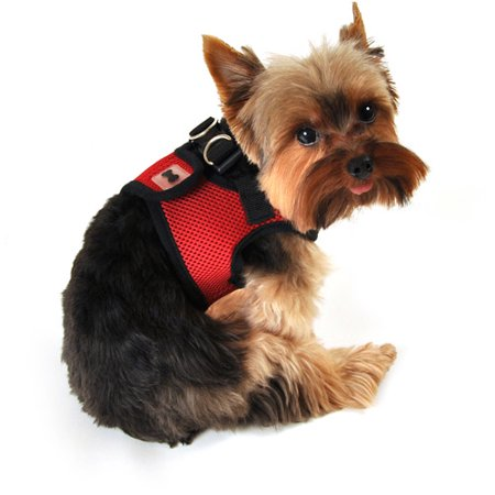 simply dog harness how to put on