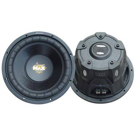 12   1600 Watt Dual Voice Coil Subwoofer Driver for Small Enclosures