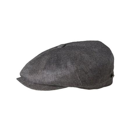 5dd1916d Stetson - Hatteras Cashmere Silk Blend Newsboy Hat Cap - Walmart.com