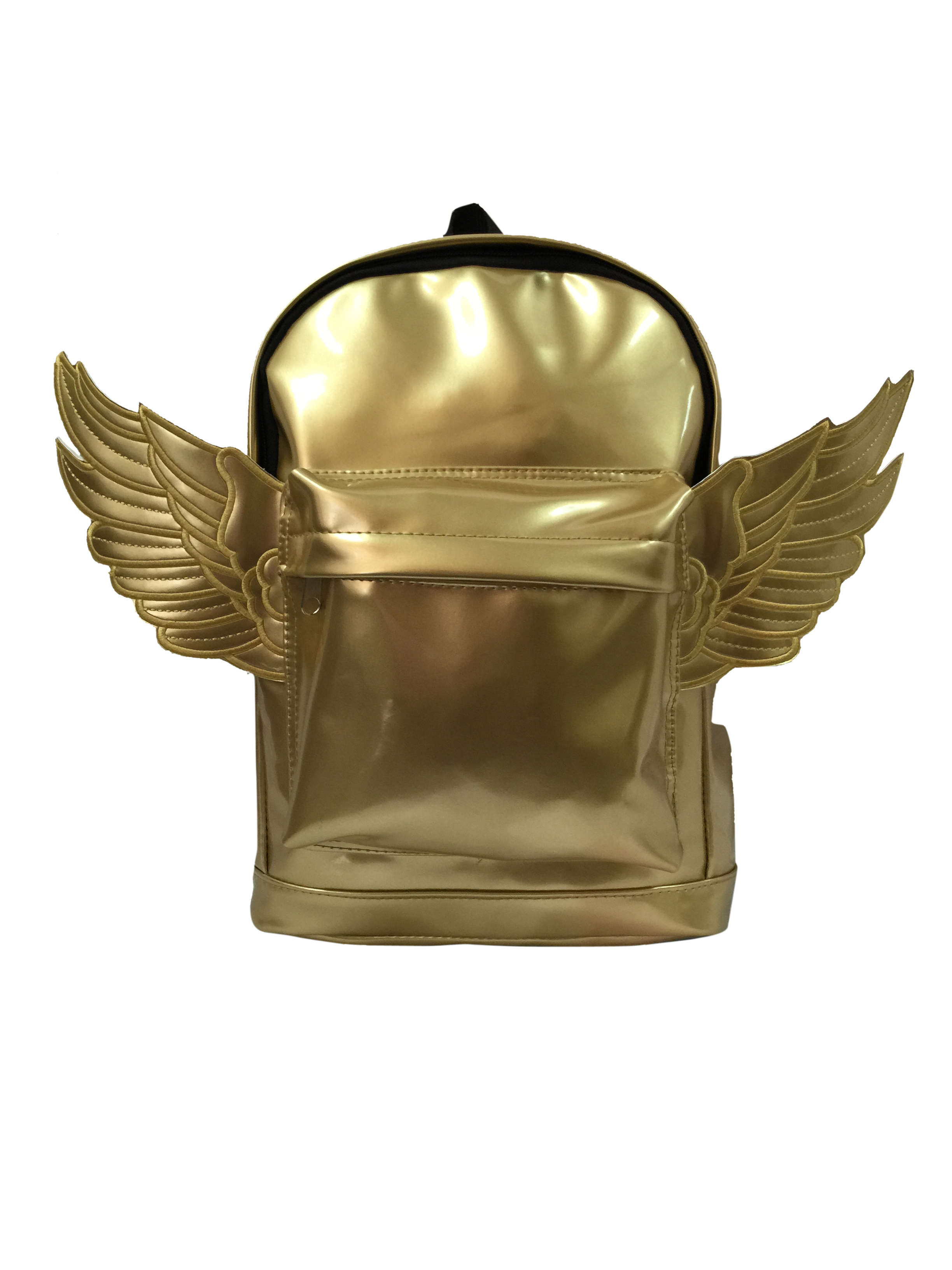 Kids Backpack Woman Mini Backpack Daypack Bag Lady Purse With Angel Wings