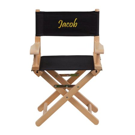 Kids Embroidered Chair (Harriet Bee Cochrane Embroidered Size Kids Directors)