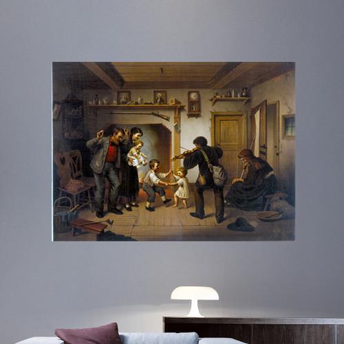 Wallhogs Buell Power of Music (1872) Wall Mural