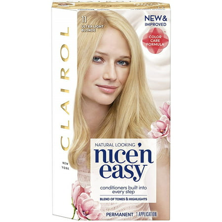 Nice Wheels (Clairol Nice 'n Easy Hair Color, [11] Ultra Light  Blonde 1 ea )