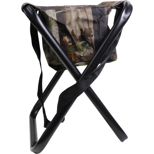 Allen Folding Stool With Carrying Strap U0026 Storage Pouch Camouflage 5805