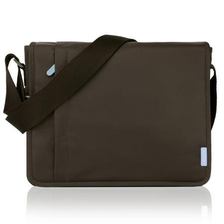 Recycled Vertical Messenger Bag - Duzign Carrier Horizontal Messenger Bag for Apple iPad Air, iPad 4, 3, 2