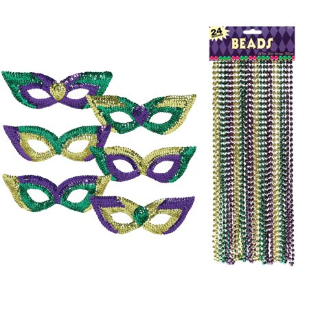 Mardi Gras Party Pack Bundle (Mardi Gras Decorations Party City)