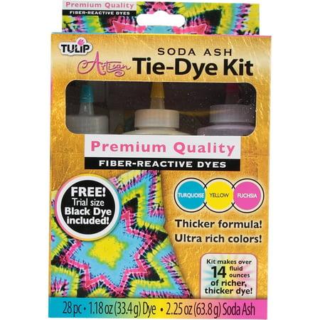Tulip Soda Ash Artisan Tie Dye, 3 - Soda Ash Dye
