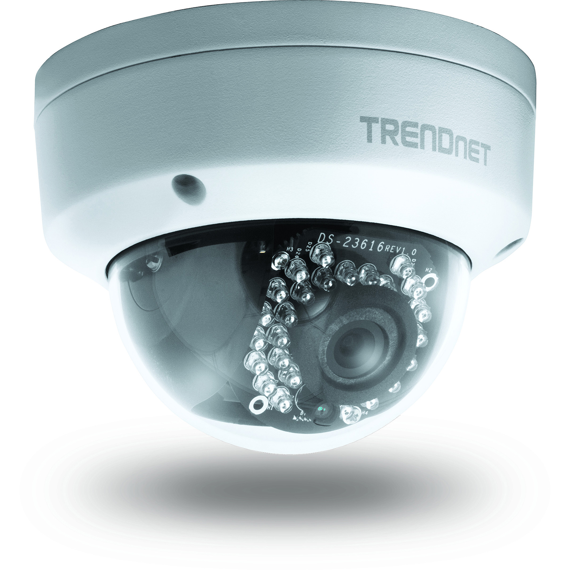 TRENDnet TV-IP311PI Outdoor 3MP PoE Dome Day/Night Camera