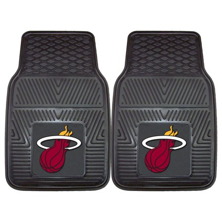 - Miami Heat 2-pc Vinyl Car Mats 17