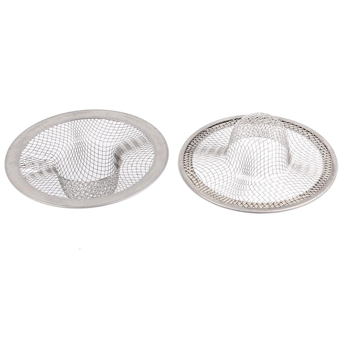 2pcs Metal Mesh Hole Design Basin Sink Drain Strainer Stopper by Unique Bargains
