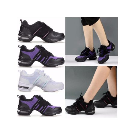 Meigar Women Athletic Sneakers Hip Hop Jazz Dancewear Sport Comfy Sneakers (Jazz Sneaker)