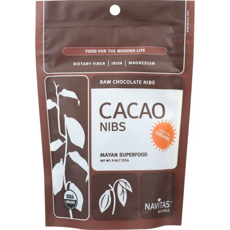 Navitas Naturals Cacao Nibs, Raw Chocolate, 4 Oz (Pack Of - Raw Cacao Nibs