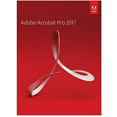 Adobe Acrobat Pro 2017 For Windows