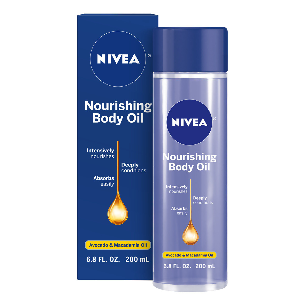 NIVEA Nourishing Body Oil 6.8 fl. oz.