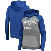 92e4f9652 Product Image Kansas City Royals Nike Women's All-Time Therma Performance Pullover  Hoodie - Dark Gray
