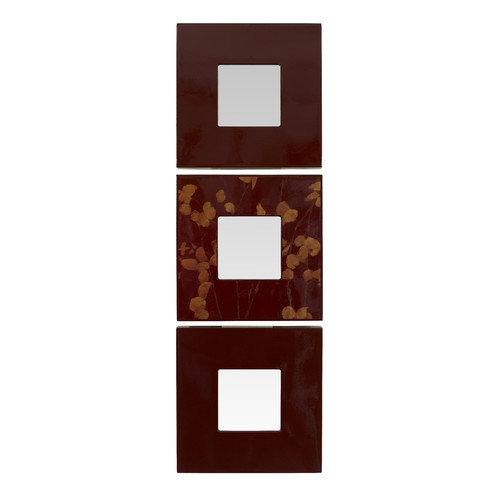 Linon Aubergiene 3 Piece Mirror Set