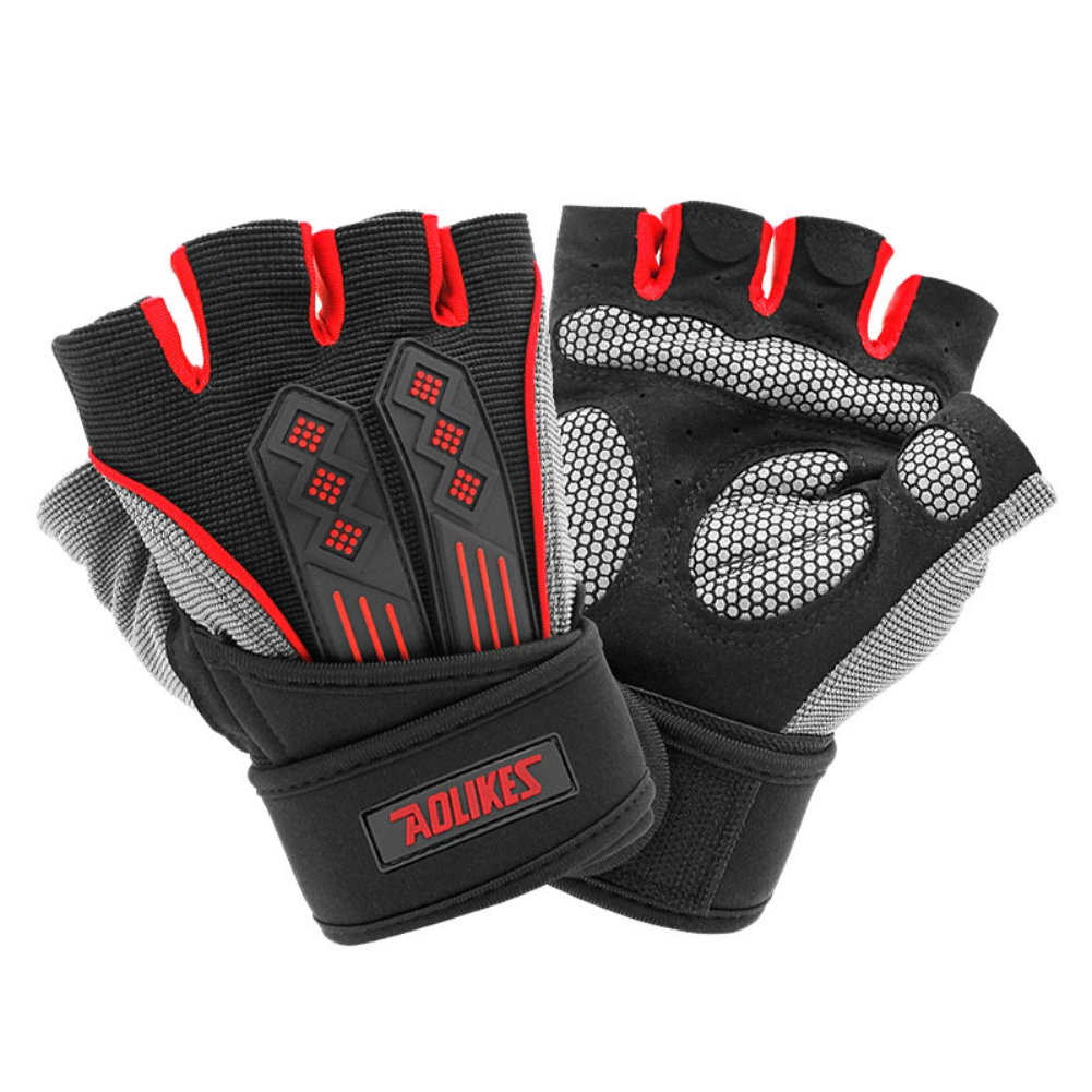 Details about  /GLOVES CYCLING FINGER BREATHABLE HALF SPORTS BIKE SLIP ANTI GEL FULL BICYCLE MEN