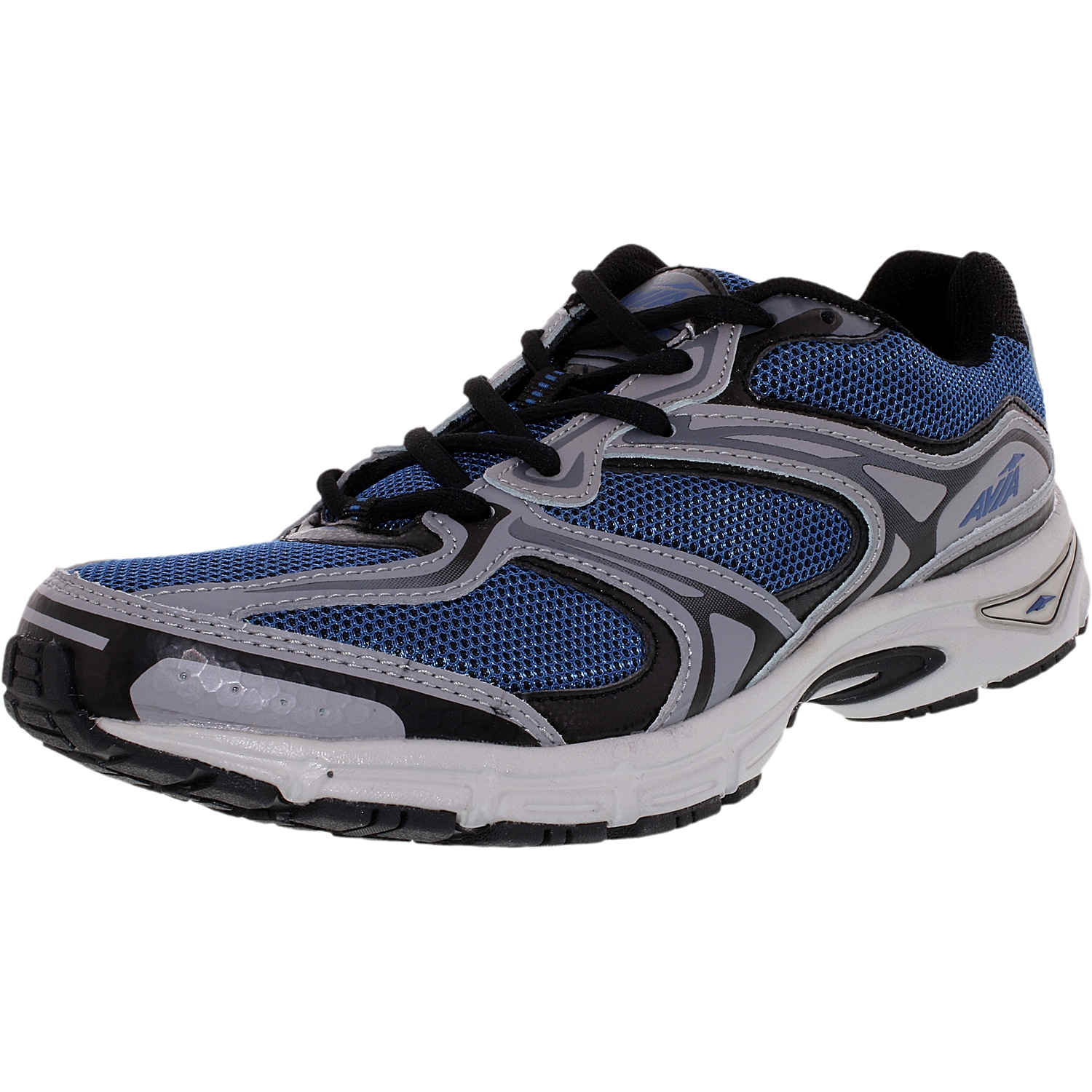 Avia Men's Endeavor Navy Black Grey Ankle-High Cross Trainer Shoe 9.5W by Avia