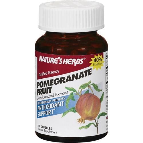 Nature's Herbs Pomegranate Fruit Capsules, 60ct