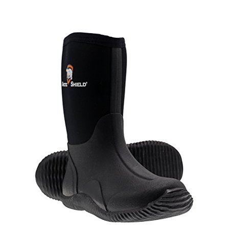 Arctic Shield Youth Waterproof Durable Rubber Neoprene Outdoor Rain and Snow Boots ()