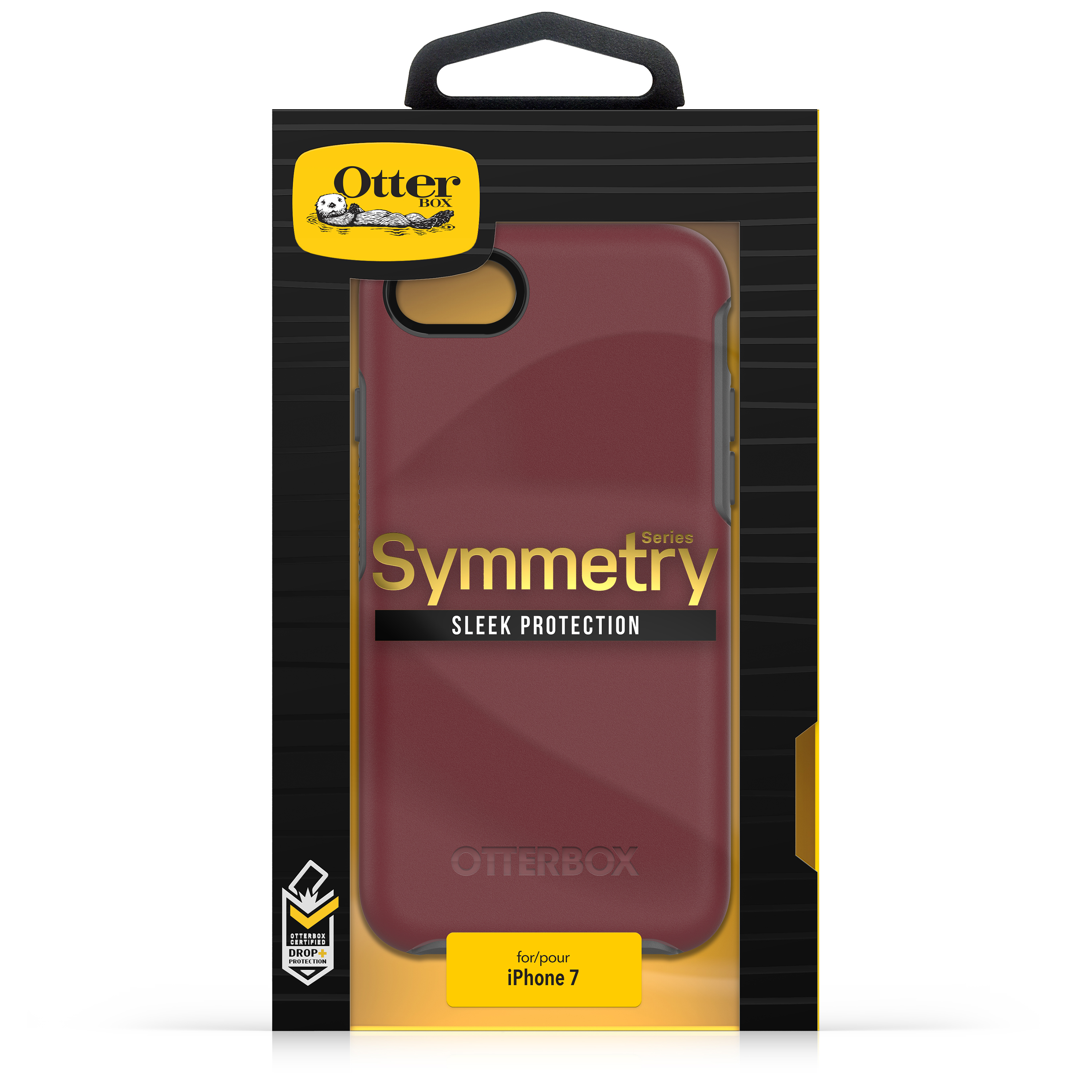 newest 1ba97 13180 OtterBox Symmetry Series Case for iPhone 8 & iPhone 7, Black ...