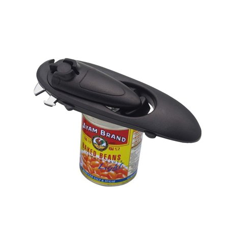 Can Opener Manual Smooth Edge and Heavy Duty, Build in Durable Bottle Opener and Lid Lifter