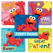 Elmo Patient Stickers - 75 Per Pack