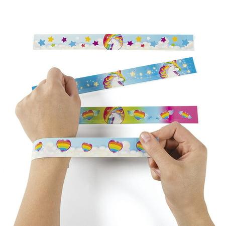 Unicorn Slap Bracelets(12) - Custom Slap Bracelets Cheap