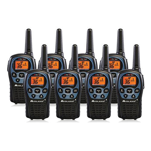 """Midland LXT560VP3 (8 Pack) 2Way Radio"" by Midland"